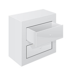 office cabinet vector image vector image