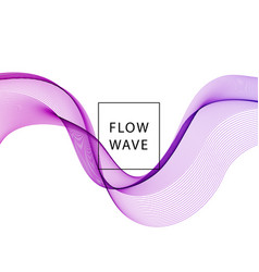 abstract background purple wavy vector image