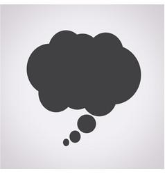 comic speech bubble icon vector image