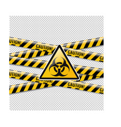 Danger sign isolated with transparent background vector