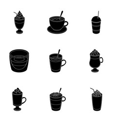 Different types of coffee different types of vector