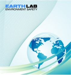 earth background vector image