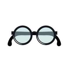 Grandparents eye glasses icon vector