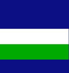 kingdom of araucania and patagonia flag vector image