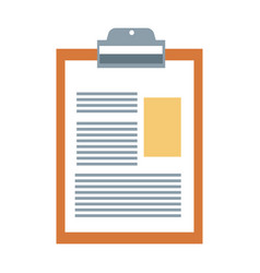 Medicine report icon vector