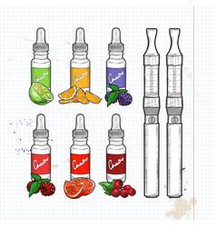 Vape pen vector