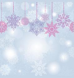 snow blur seamless pattern christmas winter vector image vector image
