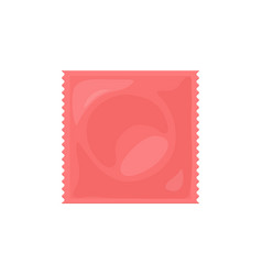 contraception method condom vector image