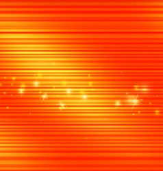 Abstract Lines with Shiny Orange Background vector