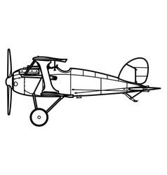 albatros dx vector image