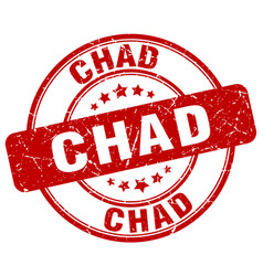 Chad stamp vector