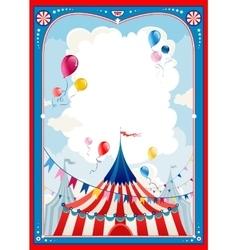 Circus frame vector