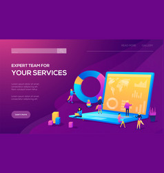 Customer service male hotline operator vector