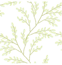decorative floral bouquet vector image