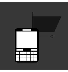 Smartphone design Media icon Flat vector
