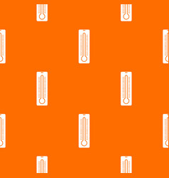 thermometer pattern seamless vector image