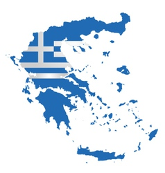 Greece flag vector