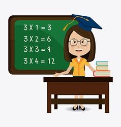 School design vector image