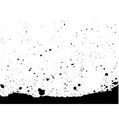 Abstract splatter black color background vector