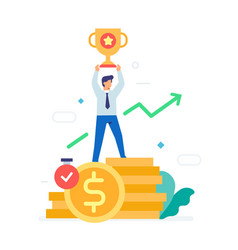 earnings withdrawal funds icon vector image
