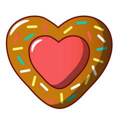 jam cookie icon cartoon style vector image
