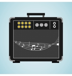 musical production design vector image