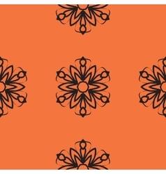 Mandala tile Seamless elegant Ornamental stylized vector image