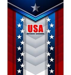 American backgrounds modern design vector
