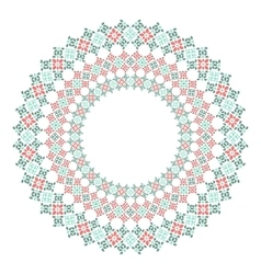 Lace decorative frame vector image vector image
