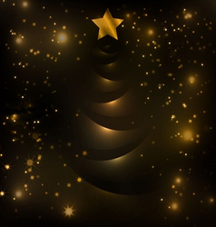 most beautiful christmas trees 1 vector image