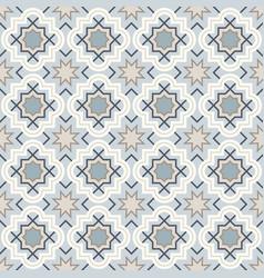 Arabic geometry tangled moroccan pattern vector