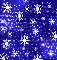 blue luxury christmas background 1 vector image