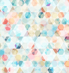 cell diamond seamless pattern vector image