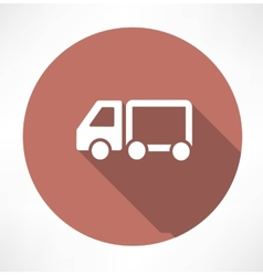 delivery truck icons vector image