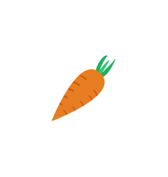 flat icon carrot element of vector image