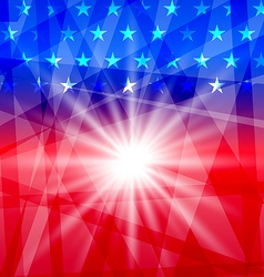 Holiday background for Independence Day vector image