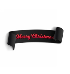 Marry Christmas Banner Template vector image