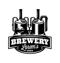 monochrome pattern with brewing machine in retro vector image