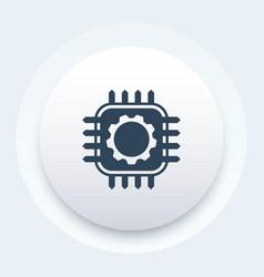 technology hardware icon vector image