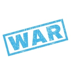 War Rubber Stamp vector