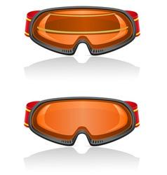 ski equipment 03 vector image vector image