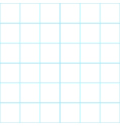 Blue Grid White Background vector image