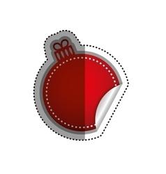 Christmas decorative symbol vector image