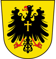 Coat of arms of rottweil in baden-wuerttemberg vector