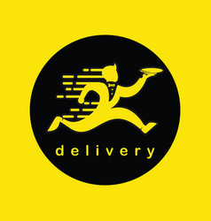 Delivery logo template design vector