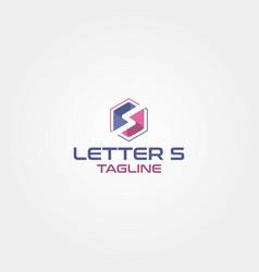Letter s logo design template idea vector