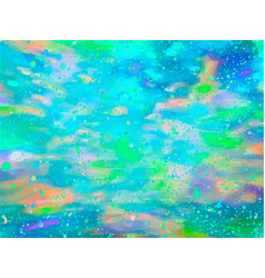 opal gemstone background trendy template vector image