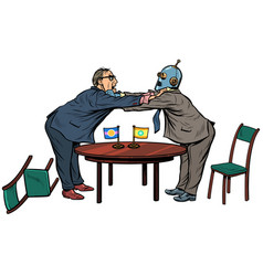 Policy diplomacy and negotiations man versus vector