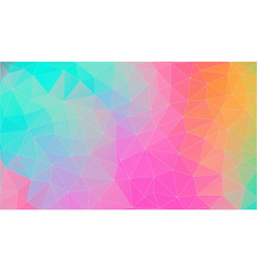 triangle background bright color eps 10 vector image