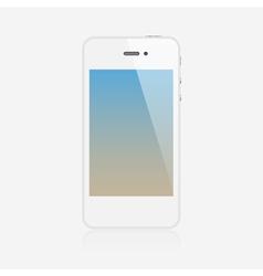 Realistic smartphone vector image